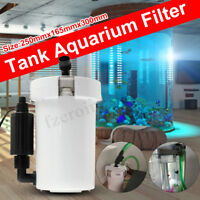 HW-603B(L) External Canister Filter Table Top Aquarium Fish Tank 400L/h 220V 6W