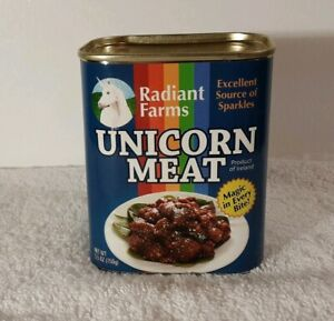 Think Geek Radiant Farms Canned Unicorn Meat