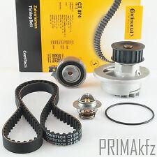 CONTI CT874 Zahnriemen + Spannrolle Wapu Thermostat Opel 1.2 1.4 1.6 Nexia 1.5
