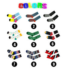 2017 Casual Cotton Design Multi-Color Fashion Men's Women's Happy Socks