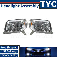 TYC 2X Left + Right Headlight lamp Assembly Kit Set For 2003-2004 Toyota 4Runner