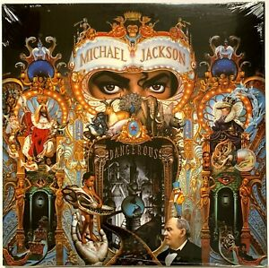 Michael Jackson - Dangerous [180-gram 2LP] LP Vinyl Record Album [New Sealed]