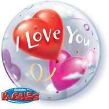 Party Supplies Valentines Day 56cm Single Bubble I Love You Heart Balloon