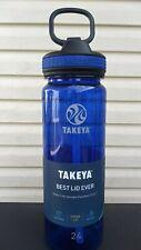 Takeya 24oz.  Water Bottle new flip lid straw