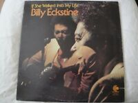 BILLY ECKSTINE IF SHE WALKED INTO MY LIFE VINYL LP 1974 ENTERPRISE RECORDS VG+