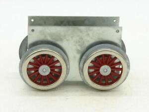 Lionel Williams Reproductions Standard Gauge Blank Motor Block has MEW Wheels #1