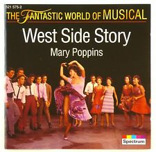 CD - Various - West Side Story - Mary Poppins - Musical - A4647