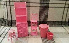 Barbie Living Room Furniture Vintage Pink 1990s Bundle Vintage