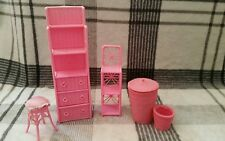 Barbie salotto mobili Vintage Rosa 1990s bundle vintage