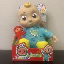 """Cocomelon Musical Bedtime JJ DOLL Plush 10"""" - NEW SHIPS TODAY"""