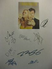 Trainwreck Signed Script Amy Schumer Bill Hader Judd Apatow Attell James reprint
