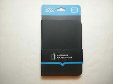 Official Kobo Black Sleepcover Case Cover Pochetteveille, Kobo Glo & Kobo Glo HD