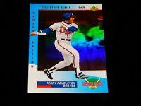 Vintage MLB Baseball Card, 1993 UPPER DECK, ATLANTA BRAVES, Terry Pendleton, # 5