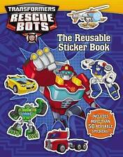 NEW Transformers Rescue Bots: Reusable Sticker Book by Trey King