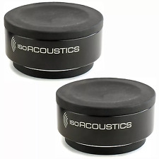 IsoAcoustics Iso-Puck Pair of Monitor Isolation Pads Stands | Pro Audio La