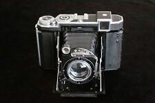 ZEISS IKON 'SUPER IKONTA B' 532/16. f2.8 80mm  TESSAR.  COMPUR RAPID, INC CASE.