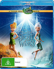 TINKER BELL AND THE SECRET OF THE WINGS (2012, BLURAY) regions A,B,C
