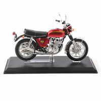 1/12 Honda Motorcycle Model Dream CB750 Four Red Diecast Motorbike Vehicle Toy
