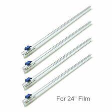 """Four (4) Plastic Wrap 24"""" Slide Cutters Stretch Cling Film Cutter Mymicco 17101"""
