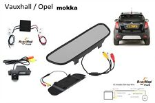 vauxhall mokka rear  reversing camera monitor 5 inch kit
