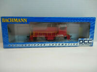 HO BACHMANN #60609 DCC-Equipped GE 70 Ton Diesel Painted (red), UNLETTERED