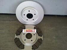 ZIMMERMANN Sport Disques de frein garnitures avant pour Nissan X-trail t30 2.0 2.2 2.5