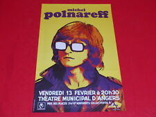 COLL.J. LE BOURHIS AFFICHES Spectacles / POLNAREFF ANGERS 13/02/1970 Rare!! TBE