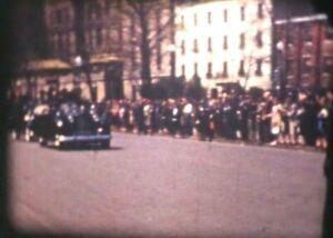 1941 Washington DC Cherry Blossoms President Roosevelt 8mm Home Movie