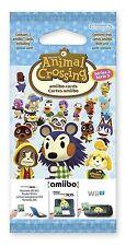 Animal Crossing Designer Amiibo Series 3 Card Pack Nintendo 3DS Wii U NEW