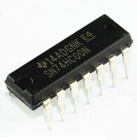 74hc00a Motorola quad 2 input nand gate IC x 5pcs