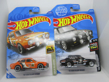 Hot Wheels '70 Ford Escort Orange(2020) and Black(2019) 2 variants