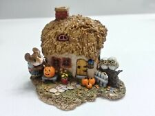 Wee Forest Folk Fall Cottage with Box (M-311b) Donna Peterson