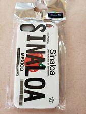 Sinaloa License Plate iPhone 7/8 Case