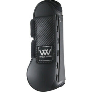 Woof Wear Pro Tendon Boot Large/X Large Black. Free Delivery