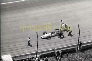 Gordon Johncock #3 Gerhardt/Ford - 1967 USAC Indy 500 - Vintage Race Negative