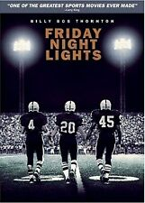NEW DVD - FRIDAY NIGHT LIGHTS - Billy Bob Thornton, Tim Mcgraw - SCHOOL FOOTBALL
