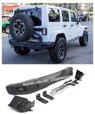For 07-Up Jeep JK Wrangler 10th Anniversary Hard Rock Style Rear Bumper Kit