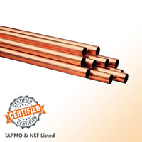 VENTRAL Copper Pipe Type M Custom Size and Length 3//4-5FT