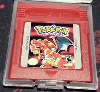 Pokemon Red Version Nintendo Game Boy-Game video games