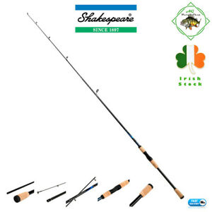 Shakespeare Conquest Carbon Spinning Rod Light Weight 6 Ft Spin Rod