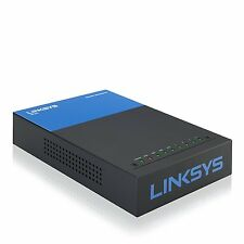 Linksys LRT214 Gigabit VPN Router 5 Ports - Desktop - 10/100/1000Base-T