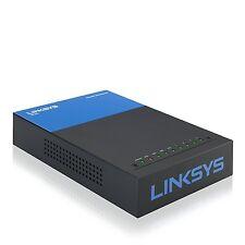 Linksys LRT214 Gigabit VPN Router 5 Ports - Desktop - 10/100/1000Base-T