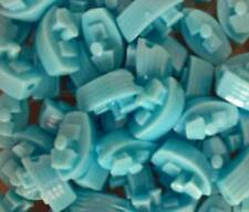 6 x 25mm Novelty Boat Shaped Pony Beads suitable for all crafts