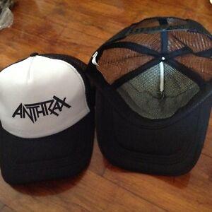 Anthrax  Heavy Metal Music Band  Adjustable Baseball Cap White/Black