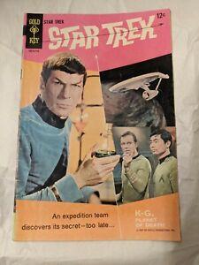 STAR TREK #1 GOLD KEY 1967 1st App in comics Hot Key Grail fully intact!!!