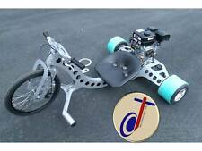 Drift Trike Industrial (Build Plans Only) Motorized Powered Drift Trike