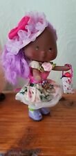 custom vintage strawberry shortcake doll  flower blossom ooak Re-root orange
