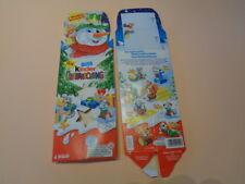 """Ferrero 4er Pack """" 2007 - Weihnachtswichtel - Sarah Schablone """" ohne Inhalt"""