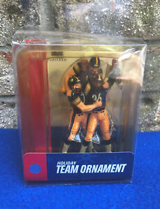 """Forever Collectibles! Steelers Celebration Ornament! """"Big Ben, Bettis, Polamalu!"""