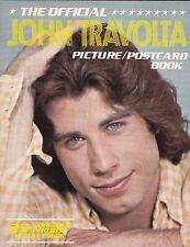 THE OFFICIAL JOHN TRAVOLTA PICTURE / POSTCARD BOOK - 23 FULL-COLOR PHOTOS 1978